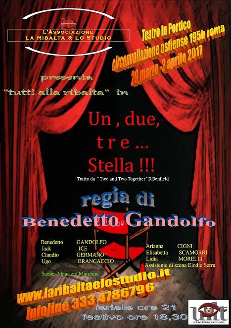 locandina Un, due, tre...Stella
