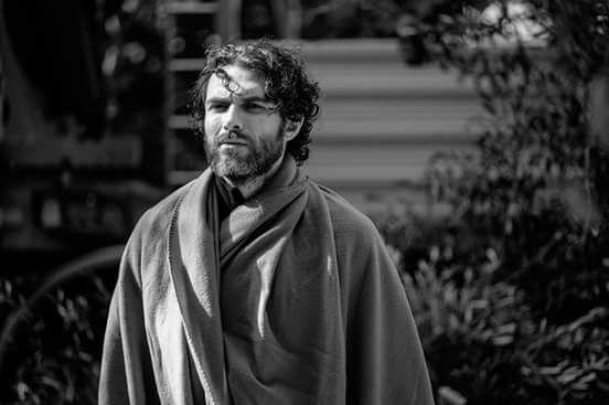 Fausto Morciano nel film DEI Foto di Matteo Leonetti