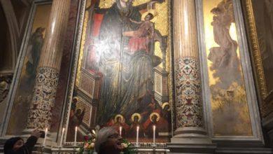 Photo of Vittorio Sgarbi visita il Santuario di Montevergine