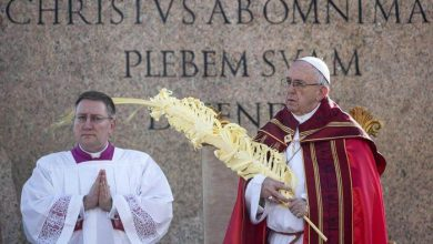 Photo of E' la domenica delle palme. Il Papa: 'Cerchiamo chi è solo'