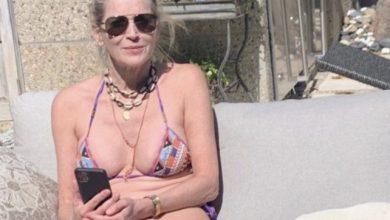 Photo of Sharon Stone, la quarantena la rende ancora più sexy