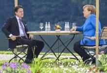"""Photo of Recovery Fund, vertice Conte-Merkel: """"Raggiungere presto un'intesa, dobbiamo uscirne insieme"""